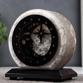 """Соляной светильник """"Тихая ночь"""" E14 15Вт диммер бел.соль 1,5-2 кг 13х8х15 см"""