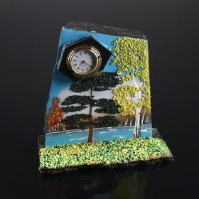 """Часы с зарисовкой """"Осень"""""""