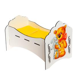 Кроватка для куклы «Мишутка»