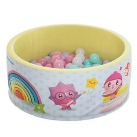 Сухой бассейн «Airpool Малышарики», цвет голубой, без шариков