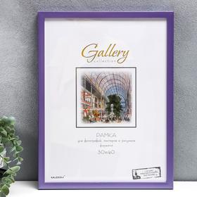 Фоторамка пластик Gallery 30х40 см, 641499-15, МИКС