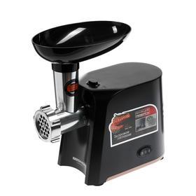 Мясорубка Redmond RMG-1260, 1340 Вт, 1.5 кг/мин, 2 насадки, черная