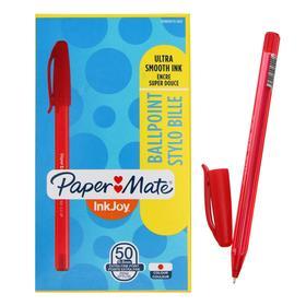 Ручка шариковая INKJOY 100, 0,5 мм, пластиковый корпус, красные чернила