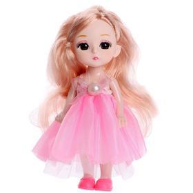 Кукла «Варя» в платье, МИКС
