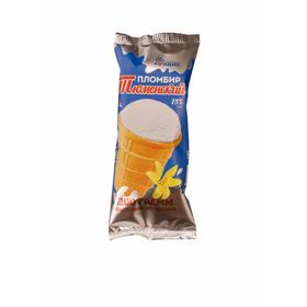 Мороженое «Тюменский пломбир» в вафельном стаканчике 15% ванильное, 100 г