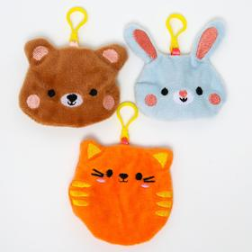 Развивающая игрушка- шуршалка «Веселые зверята» набор 3 шт.