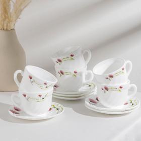 {{photo.Alt    photo.Description    'Сервиз чайный Доляна «Нежные маки», 12 предметов, чашка 200 мл, блюдце d=14 см, цвет белый'}}