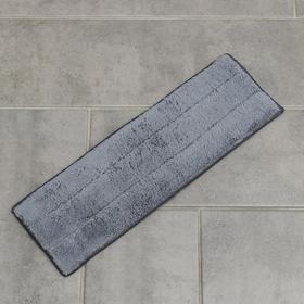 Насадка для плоской швабры с распылителем (арт. 5200280), 38×12 см, цвет серый