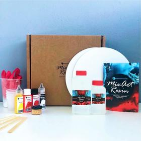 Набор для рисования «MixArt MINI BOX» «Огненный закат»