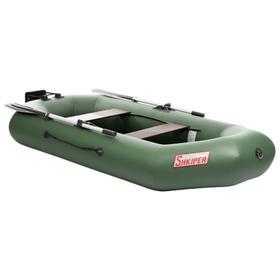 Лодка Шкипер 260 НТ, цвет олива