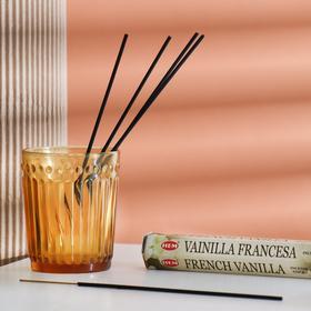 """Благовония HEM """"Французская Ваниль.French Vanilla"""", 20 палочек в упаковке, шестигранник"""