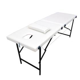 """Массажный стол """"Колибри"""" 180*60*70, цвет белый"""