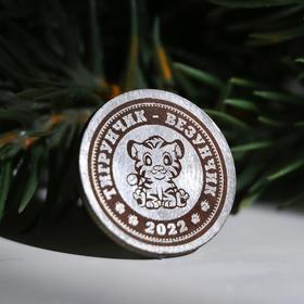 "Сувенирная монета ""2022. Везунчик"""