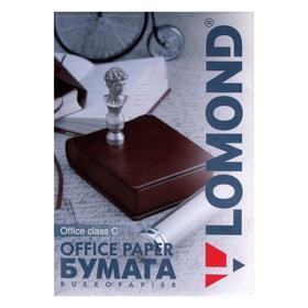 Бумага А4, 500 листов LOMOND Office Paper, 80г/м², белизна 146% CIE, класс B (0101005)