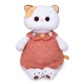 Мягкая игрушка «Ли-Ли в вязаном платье», 24 см