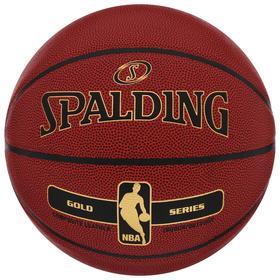 Мяч баскетбольный Spalding NBA Gold Series , размер 7