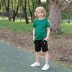 Шорты для мальчика «Basic», рост 158 см, цвет чёрный