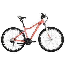"""Велосипед 27,5"""" Stinger Laguna Std, цвет розовый, размер 17"""""""