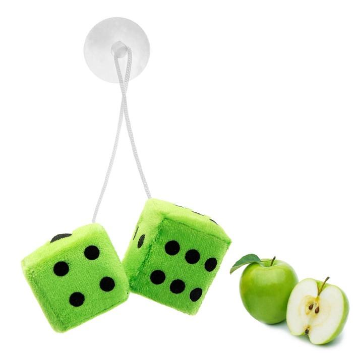 """Ароматизатор подвесной """"Кости"""", зеленый, яблоко"""