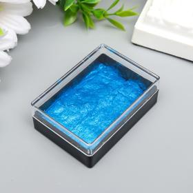 "Паста-краска для декорирования металлик ""Королевский синий"" 5,2х4,2х2 см"