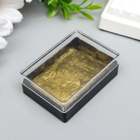 """Паста-краска для декорирования металлик """"Королевское золото"""" 5,2х4,2х2 см"""