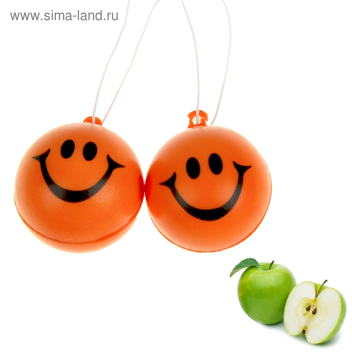 "Ароматизатор для авто ""Luazon Smile"", яблоко"