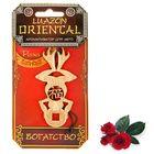 """Ароматизатор для авто Luazon Oriental """"Богатство"""", аромат роза"""