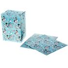 Коробка сборная прямоугольная «Снеговички», 15 × 21 см
