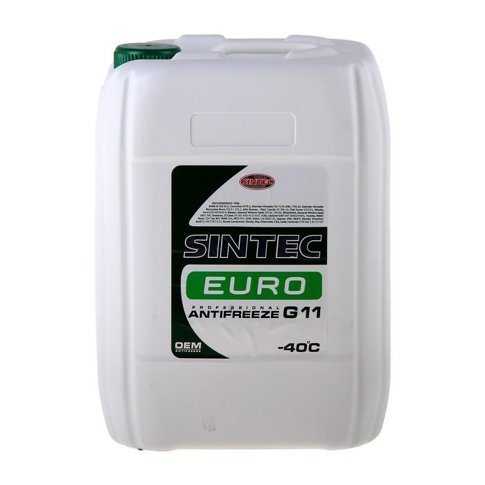 Антифриз SINTEC EURO зелёный, 10 кг