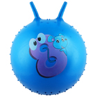 "The ball-grasshopper with horns ""Happy smiles"", massage, d=55 cm, 420 g MIX"