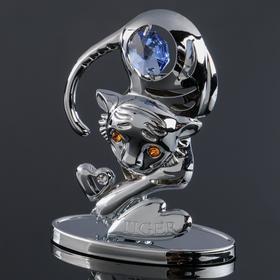 """Сувенир Тигр"""", с кристаллами Сваровски"""