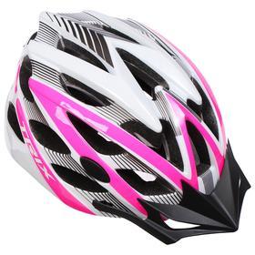 Шлем велосипедиста TRIX, кросс-кантри, 25 отверстий, регулировка обхвата, размер: L 59-60см