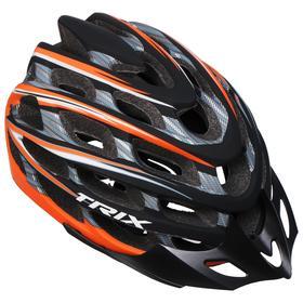 Шлем велосипедиста TRIX, кросс-кантри, 35 отверстий, регулировка обхвата, размер: L 59-60см