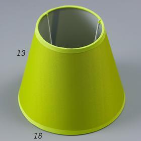 Abazhur E14 green 15,5h15,5h13,7 cm
