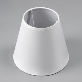 Abazhur E14 white 15,5h15,5h13,7 cm
