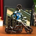 """Photo frame for photo 10x15 cm """"Sportbike"""" with a pencil"""
