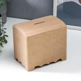 Шкатулка-копилка для декора 11х16х14,5 см