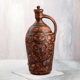 """Бутылка """"Сова"""", декор, 7 л"""