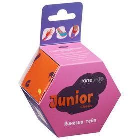 Кинезио тейп Kinexib Classic Junior, 4 см х 4 м, цвет розовый