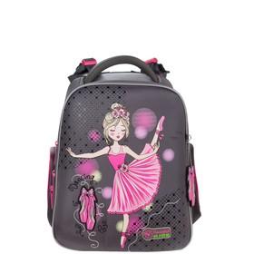 Рюкзак каркасный, Hummingbird TK, 37 х 32 х 18 см, с мешком для обуви, «Балерина»