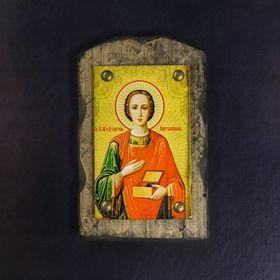 "The icon over the door antique ""the Holy healer Panteleimon"""