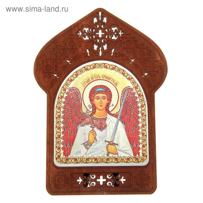 """Ажурная икона на подставке """"Святой Ангел Хранитель"""""""