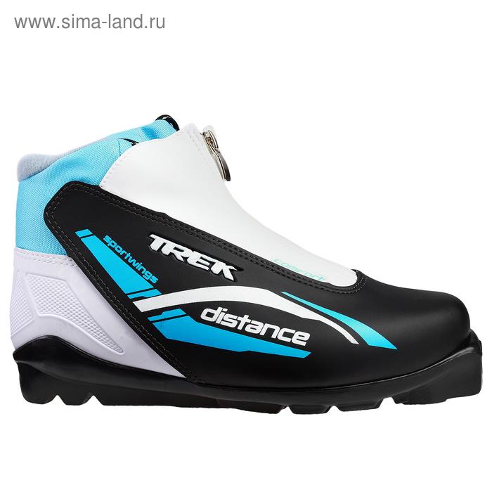 Ботинки лыжные TREK Distance Comfort SNS ИК, размер 43, цвет: черный