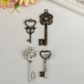 "Декор ""Ключи императора"" набор из 4 шт."