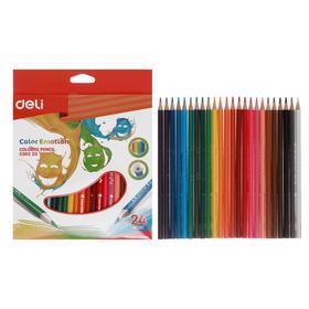 24 Colors Deli Color Emotion Pencils, Triphed, Europa