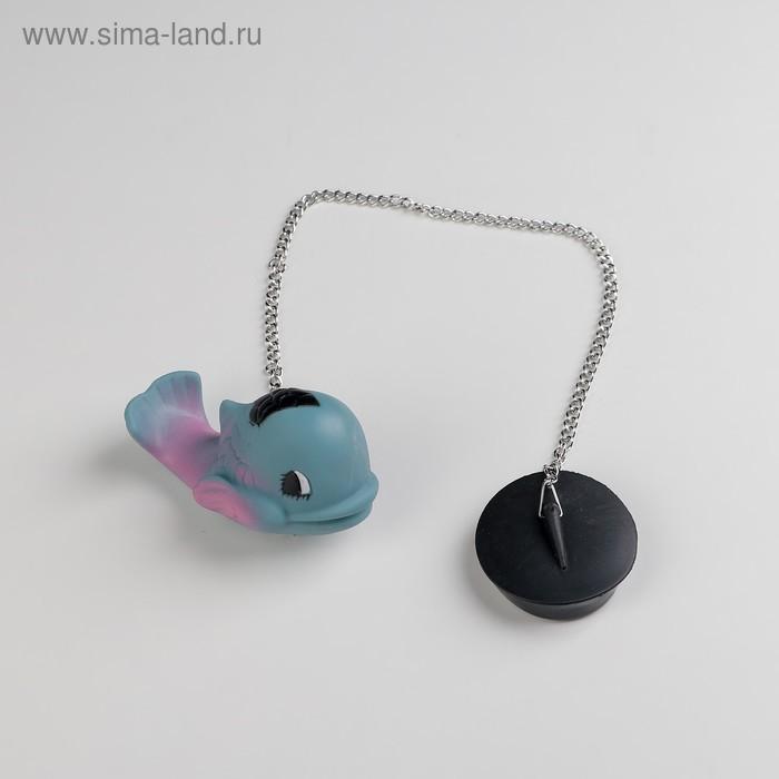 "The bath tube with toy ""kit"" d = 4.8 cm, chain 40 cm"