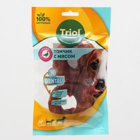 Пончики жевательные DENTAL с мясом утки, 7,5см, 70-80г (уп.2шт.)