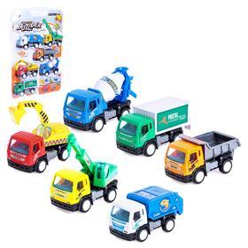 Игровой набор «Строительная площадка», 6 машин