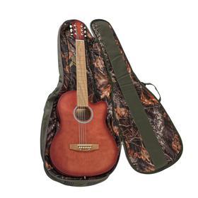 Чехол для классической гитары, с поролоном, хаки, 105 х 38 см,