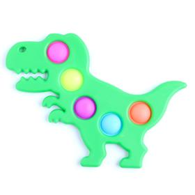 Антистресс игрушка «Вечная пупырка», Симпл димпл, динозавр, МИКС